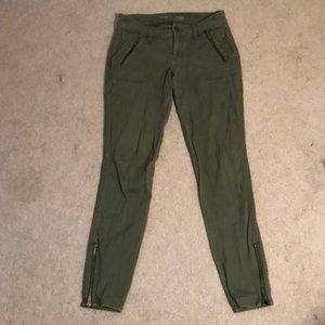 Old Navy Army Green Jeans